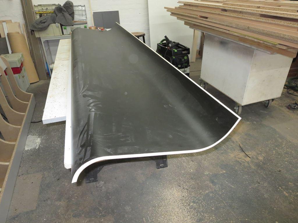 Produktion Sitzbank 3