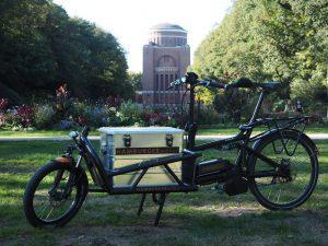 schneller beim Kunden in Hamburg mit dem Lastenrad