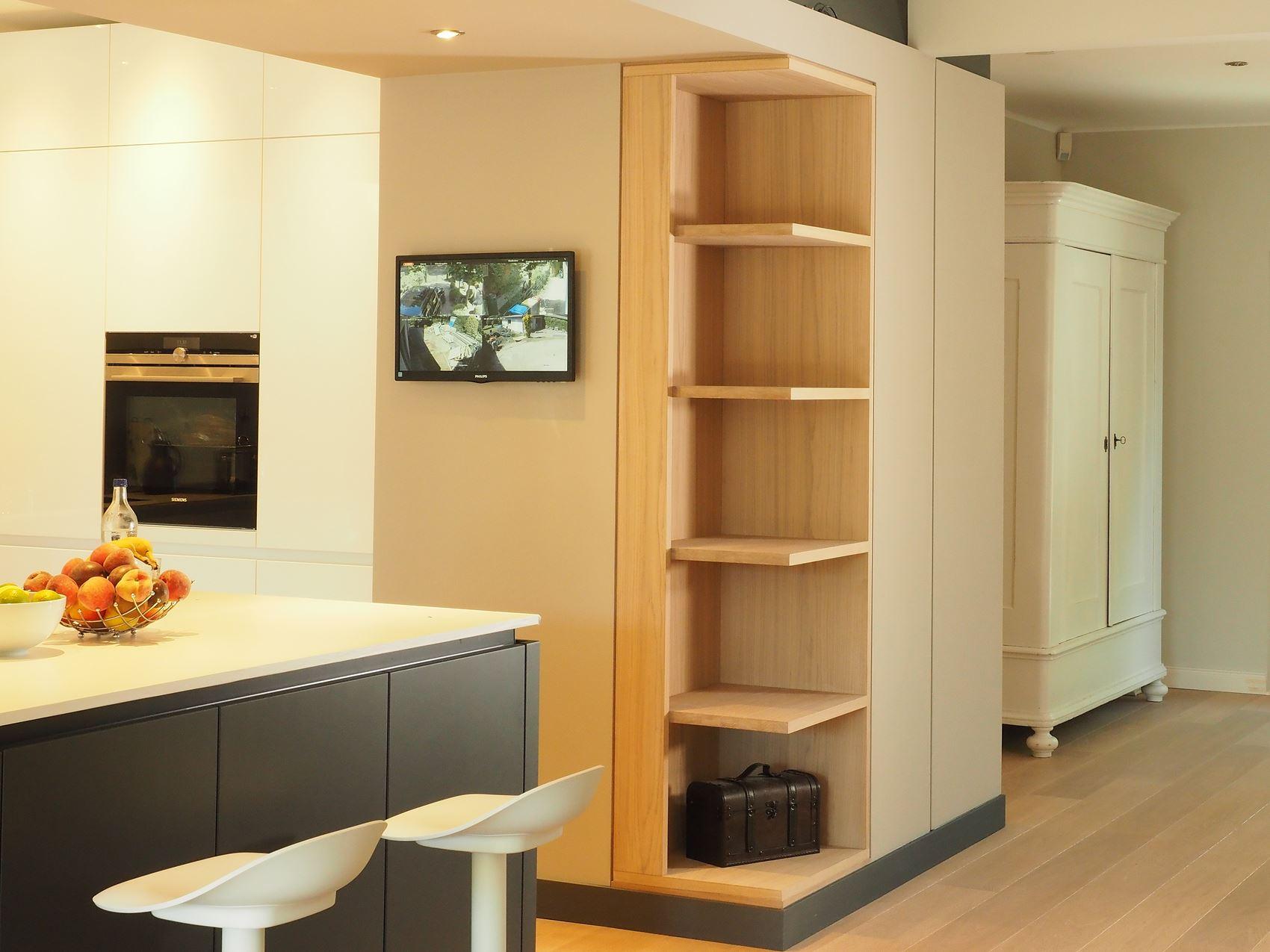 bestehende Küche erweitert vom Tischler in Hamburg
