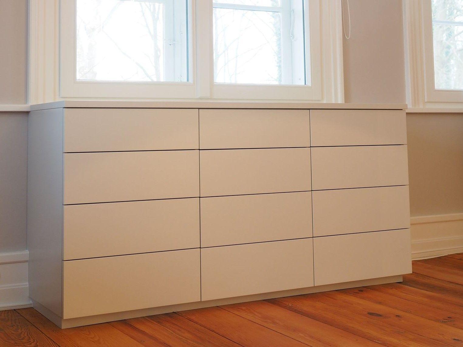 moderne Kommode mit Schubladen vom Tischler in Hamburg – HAMBURGERmöbel
