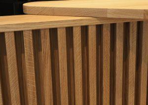Tresen in Eichenholz geölt von Tischlerei ©HAMBURGERmöbel